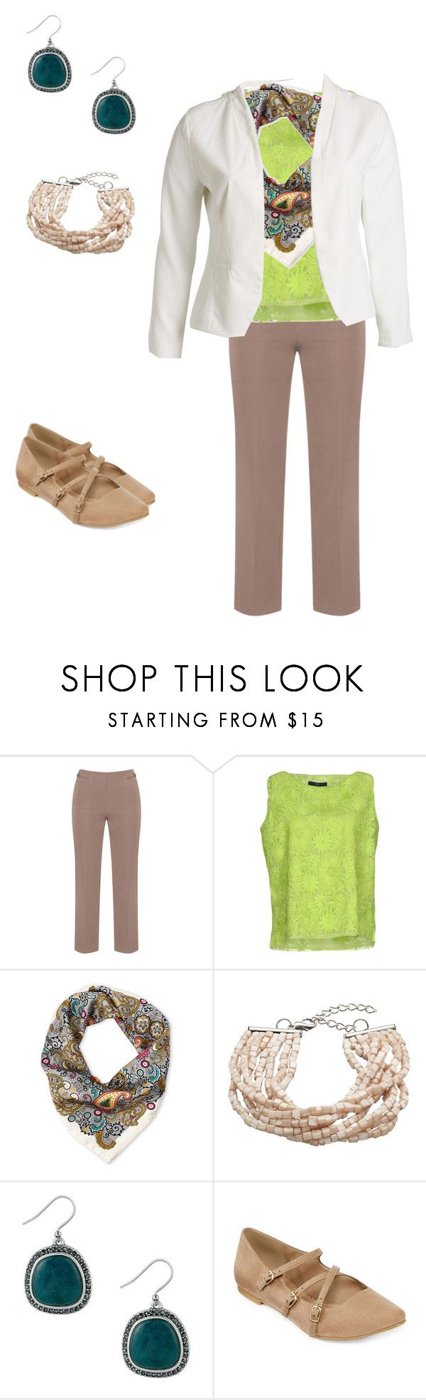 """""""Untitled #124"""" by deb-coe on Polyvore featuring Manon Baptiste, Blue Les Copains, Pollini, John Lewis, Lucky Brand, Restricted, Blu Pepper and plus size clothing"""