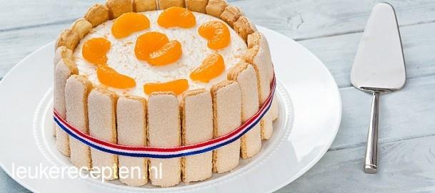Leuk en lekker recept voor een oranje kroon met mandarijn,... Door LeukeRecepten