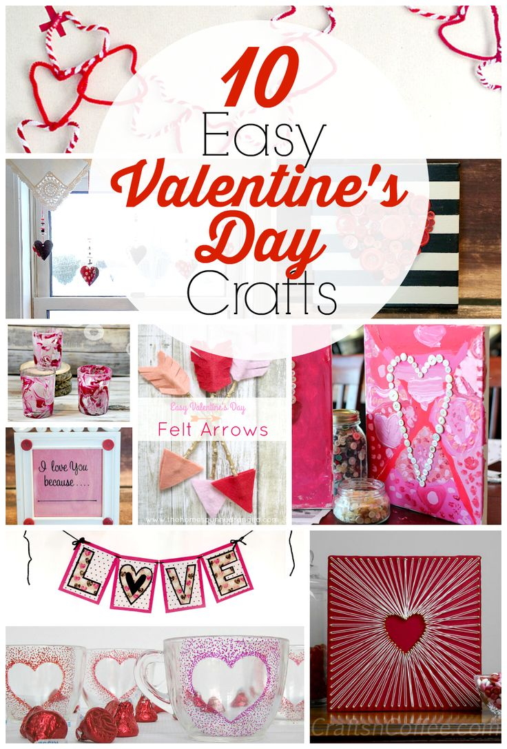 10 Easy Valentineu0027s Day Crafts For Adults. Easy Diy CraftsDiy Craft ...