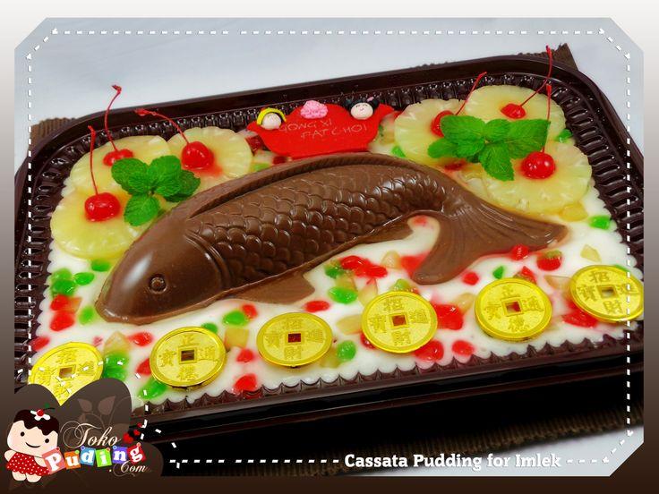 Cassata Pudding for Imlek