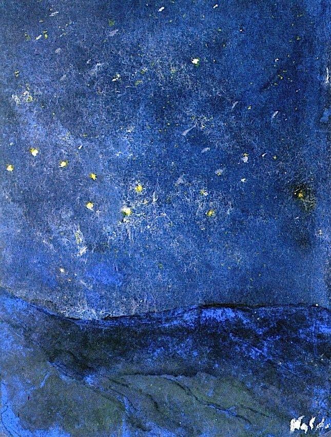 Emil Nolde, Starry Skay