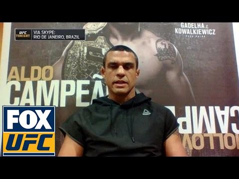UFC ON FOX: Vitor Belfort: 'Fighting is a pleasure. I want to have fun' | UFC TONIGHT