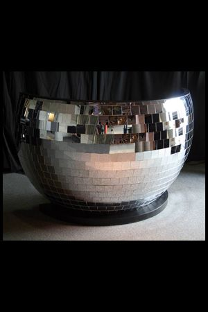DJ Booth - Giant Mirrorball                                                                                                                                                      More
