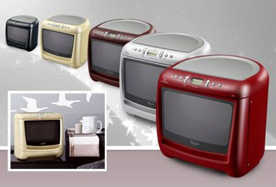 cute colorful whirlpool max microwaves, but only available in the UK ...