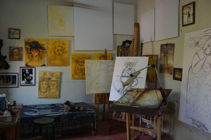 Inside Martha Jimenez's Studio