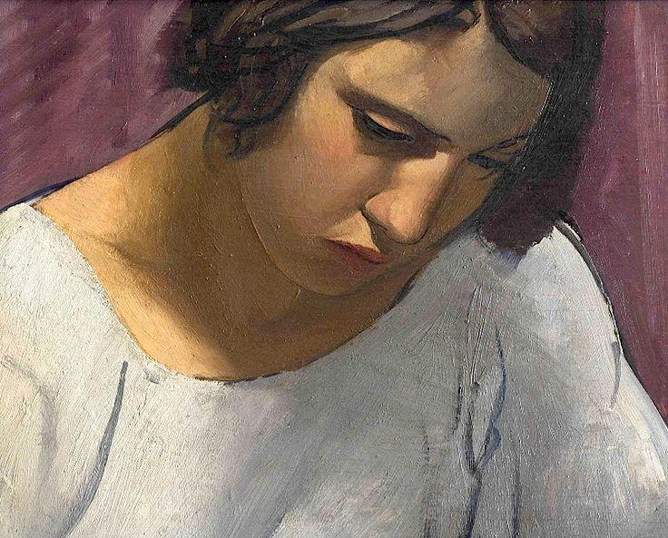 Emilio Pettoruti (Argentinian 1892-1971) Ragazza (Carolita)