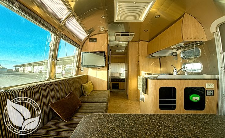 Luxury airstream trailers anywhere in southern california for Southern california interiors