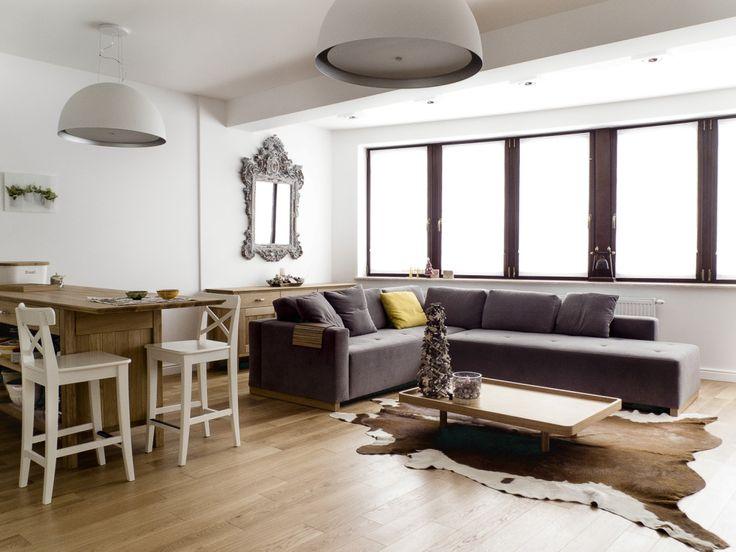 Comforty SOFA SWING. Apartament Zakopane. Proj. Jacek Tryc Foto: Marcin Tryc