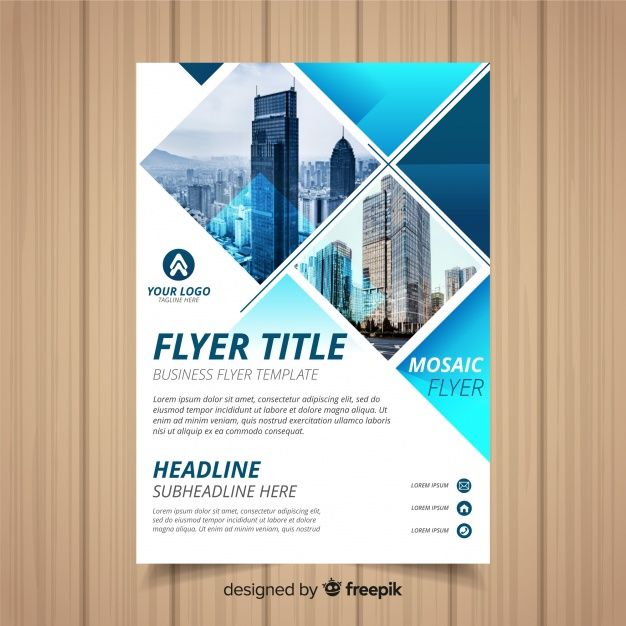 Business flyer template Free Vector Flyer Designs Business flyer