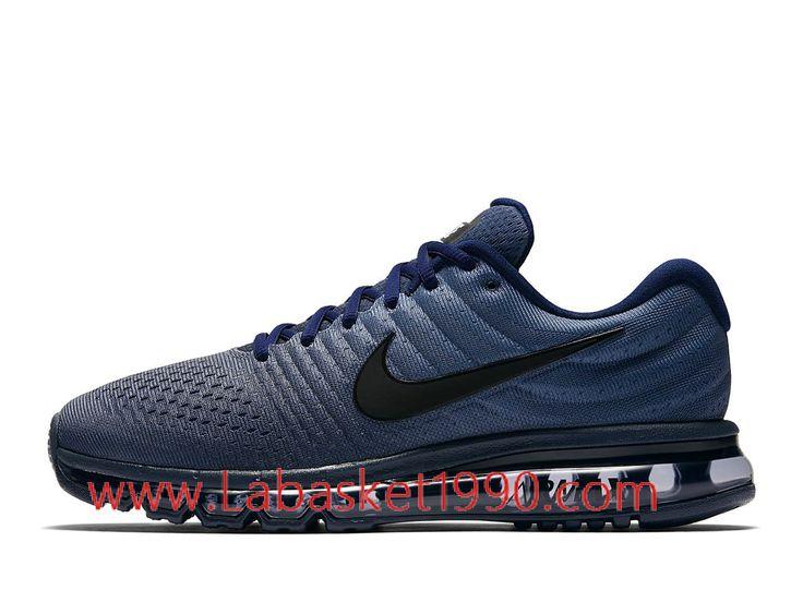 Nike Air Max 2017 849559_405 Chaussures de Running Pas Cher Pour Homme Bleu  Noir-Achetez en ligne les articles signés Nike.