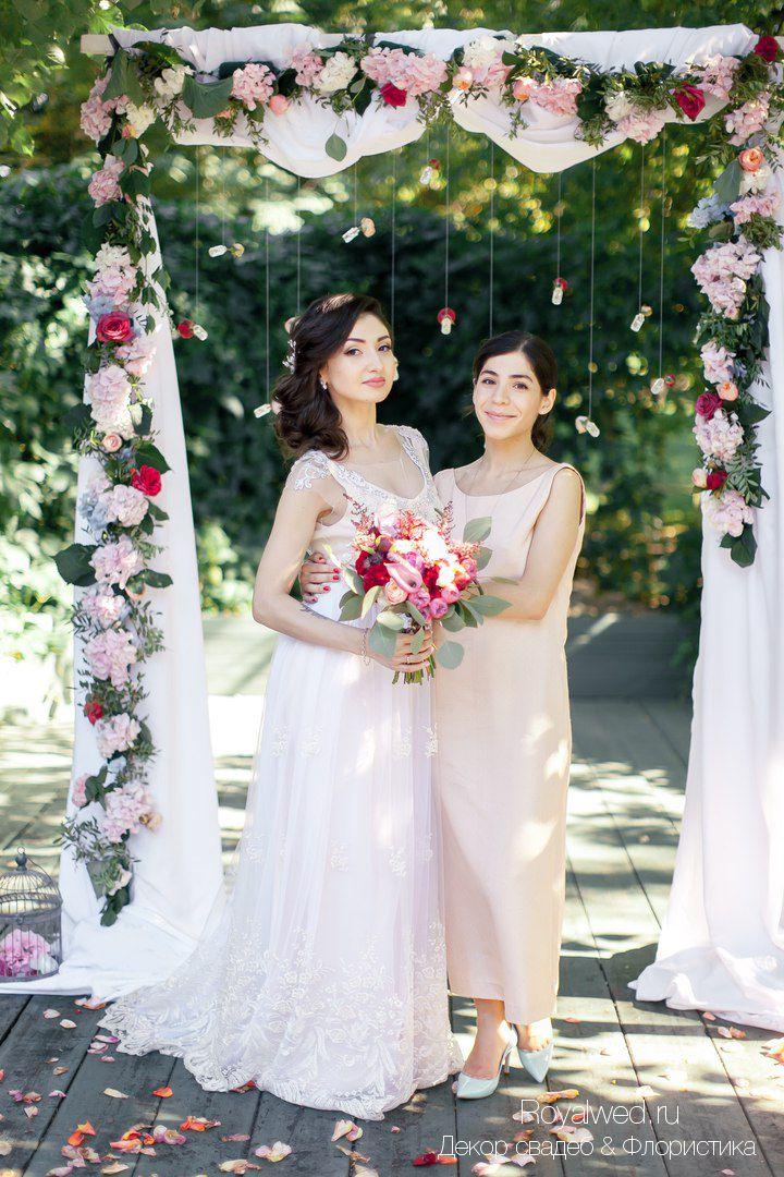 wedding arch, wedding florestry, boho wedding, Royalwed.ru