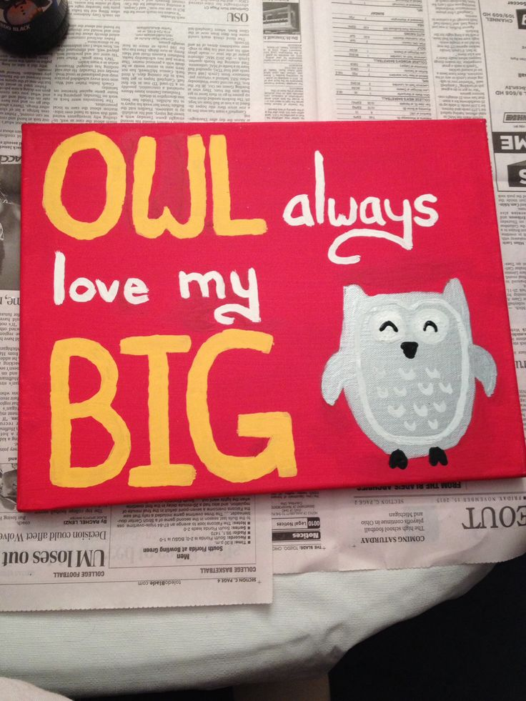 Chi Omega Big/Little craft!