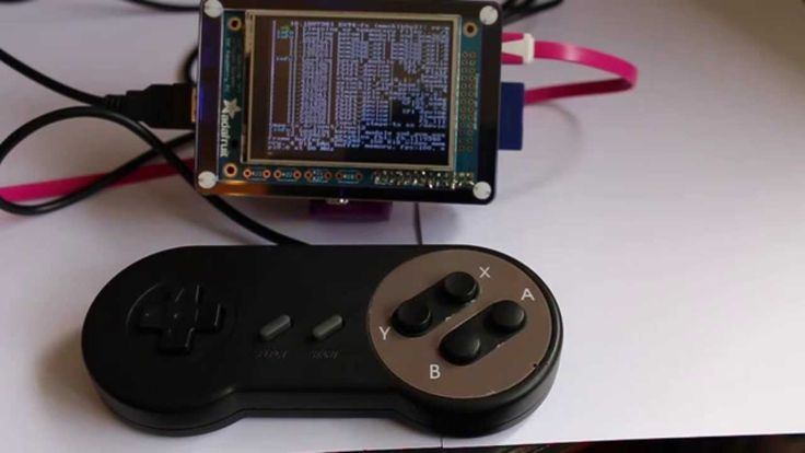 Retro gaming with the Raspberry Pi and TFT display