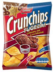 Limitowana edycja prosto z Dzikiego Zachodu! #Crunchips #tugeza #chips #steak #texas