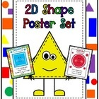 Needing some 2D Shape reference posters for your classroom?  Then PICK MINE! - Lol!  These posters are fabulous as a reference tool or a super visu...