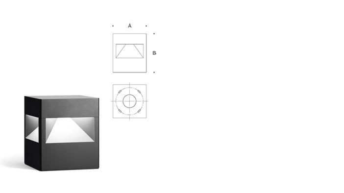 Bega cube bollard