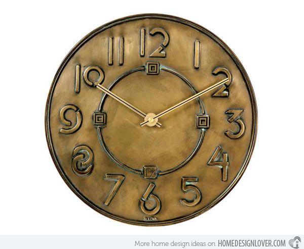 industrial wall clock amazon large uk interesting designs clocks
