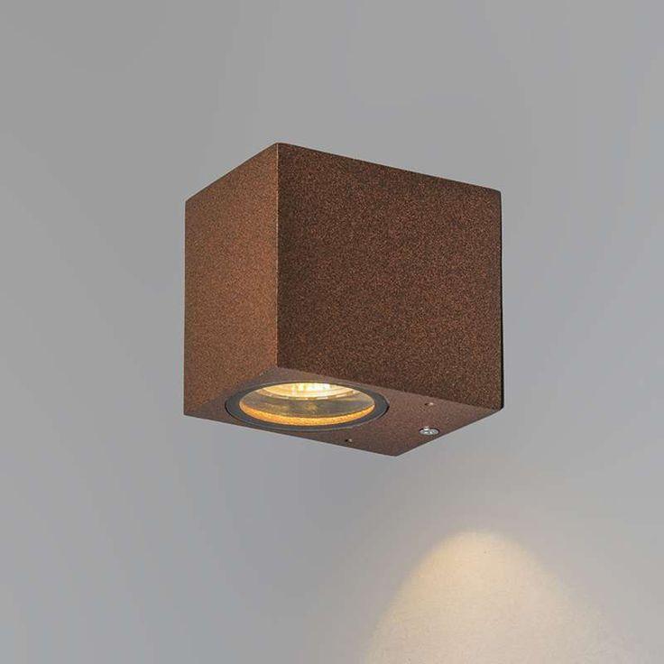 bloq rust outdoor wall light   € 49,50   info@biqmodular.com