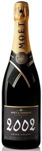 Moët & Chandon Brut Grand Vintage Champagne 2002 expert wine reviews, scores, LCBO, BCLDB, SAQ store stock for this Sparkling Wine , food pairing, price, serving tips and more A.C., Champagne wines you'll enjoy