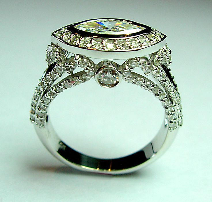 137 best images about marquise engagement rings on