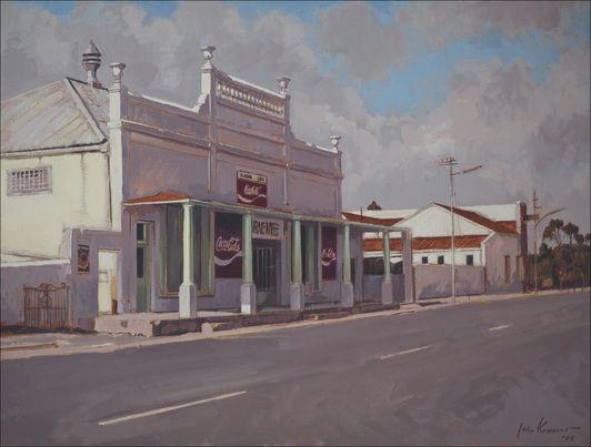John Kramer (born 1946) 'Central cafe, Aberdeen', 2008