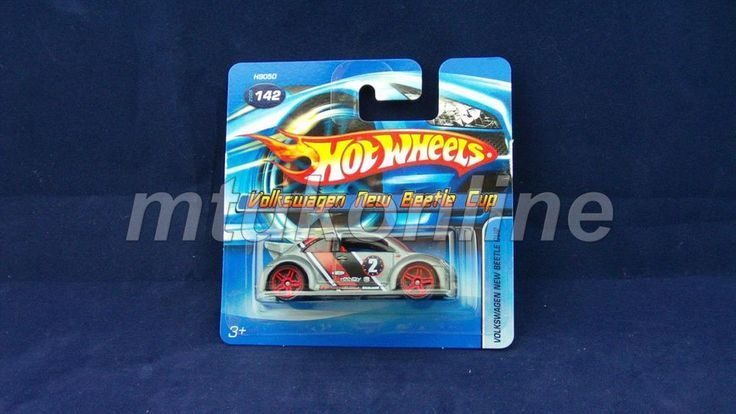 HOTWHEELS 2005 | VOLKSWAGEN NEW BEETLE CUP | 142-2005 | H9050 | WHEEL-A