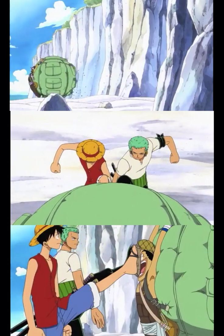 Haha I seriously loved this part. One Piece | Luffy | Zoro | Usopp | one piece funny moment