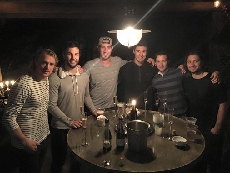 The guys are in Stavanger and ready for Zuccarello's All-Star Game (DNB Arena on Friday)! Hags, Brass, Haysie, Kreids, Glenn and Zuke
