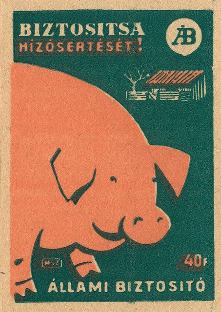 https://flic.kr/p/4BF8Ni | hungarian matchbox label
