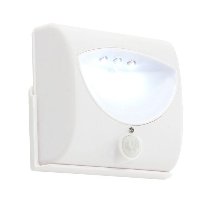 Masterlite LED 0.27W Battery Cabinet Light (L)80mm | Departments | DIY at B&Q