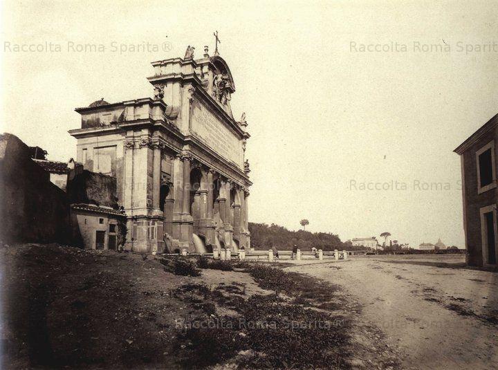 Mostra dell'Acqua Paola (er Fontanone) Anno: 1870/80