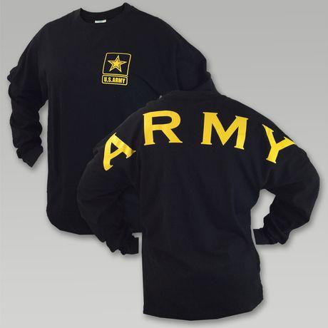 Army Star Spirit Jersey T- Shirt