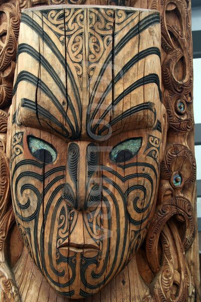 Maori carvings new zealand google search masks