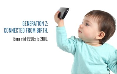 Generation Z - Lots of information, links and infographics about this Generation. http://bit.ly/2013_GenZ