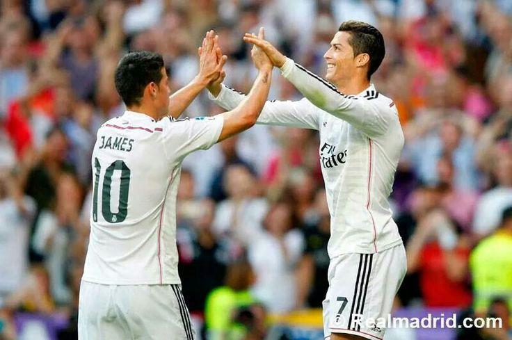 Jamez Rodriguez & Ronaldo, real-barca