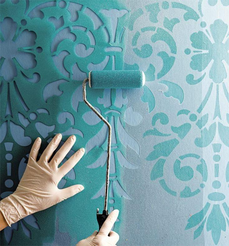 Die besten 25+ Wand streichen ideen Ideen auf Pinterest Wände - küche tapezieren oder streichen