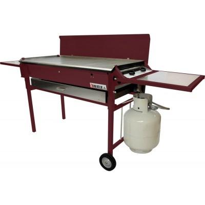 Heatlie HM850PCPC Powder Coated Claret BBQ Package - http://www.appliancesalesdirect.com.au/shop-by/bbq/heatlie-hm850pcpcs-powder-coated-claret-bbq-package