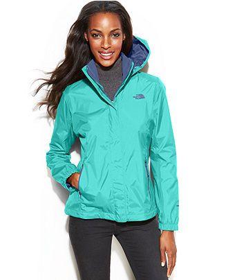 The North Face Jacket, Resolve Zip-Up Waterproof - Jackets & Blazers - Women