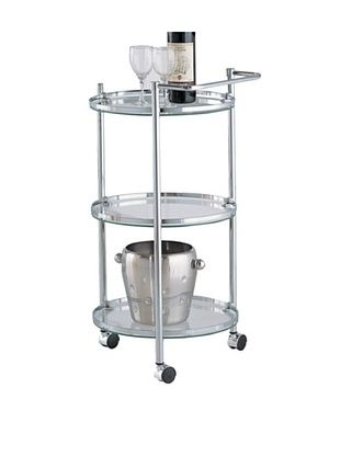 39% OFF Organize It All Circular Serving Cart