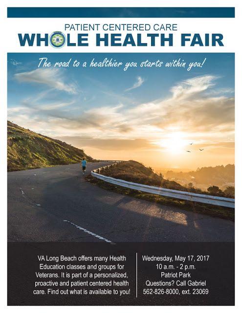VA Long Beach Whole Health Fair briefing 4/7/17