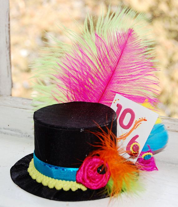 $26.00 mini mad hatter top hat