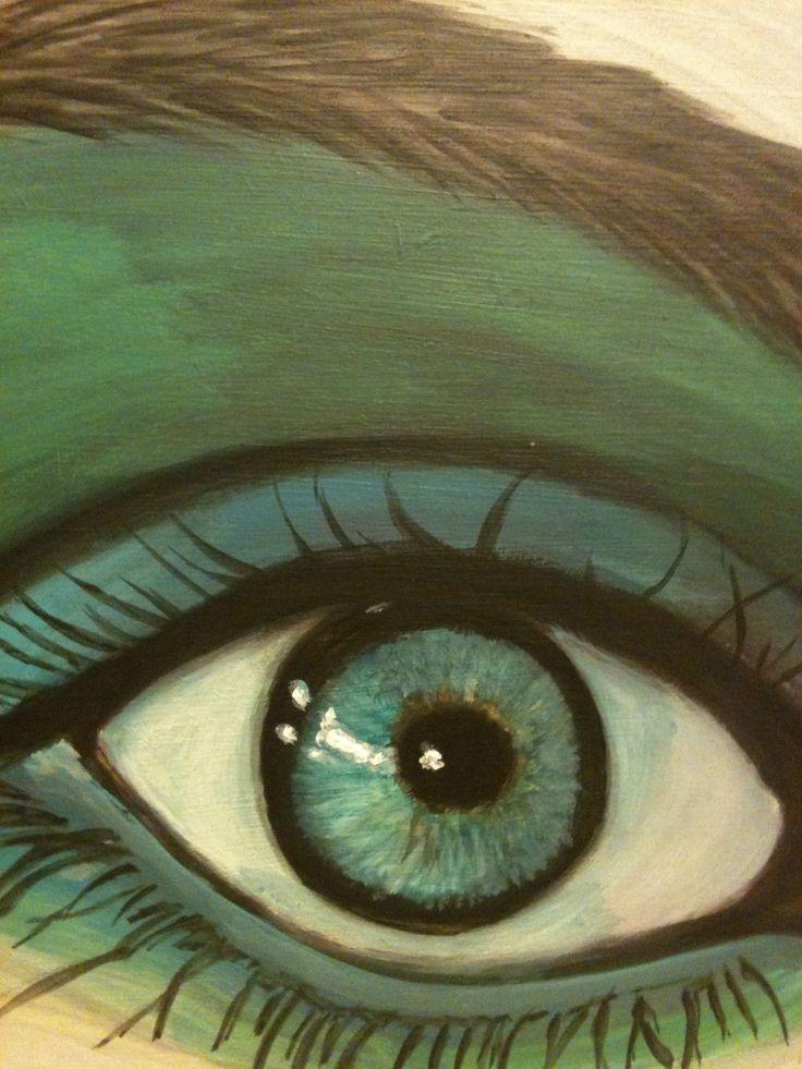 Acrylic painting..by Sonja Middelman
