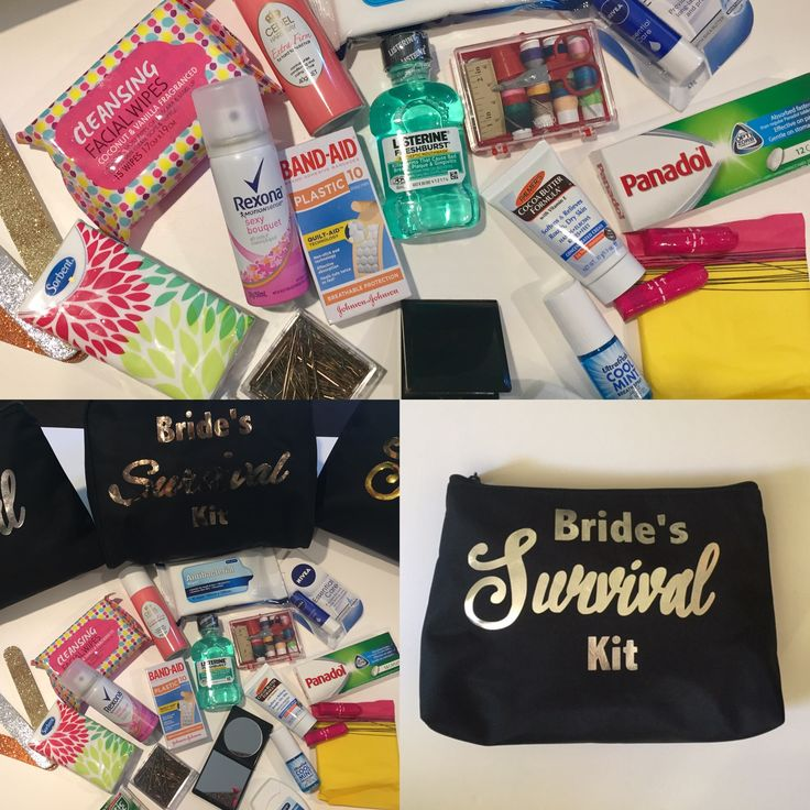 Bridal Survival Kits by BK Styling and Events for all orders email bec@bkstylingandevents.com.au