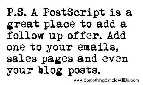 what is a postscript...