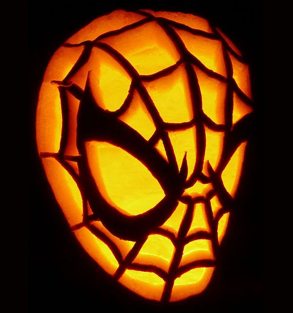 Spiderman-Pumpkin-carving-2015 - Visit to grab an amazing super hero shirt now on sale!