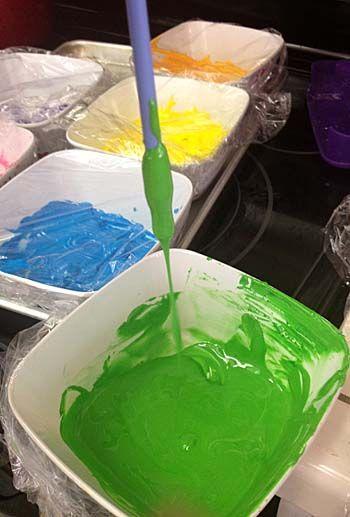 Paint Splatter Cake | Little Delights Cakes