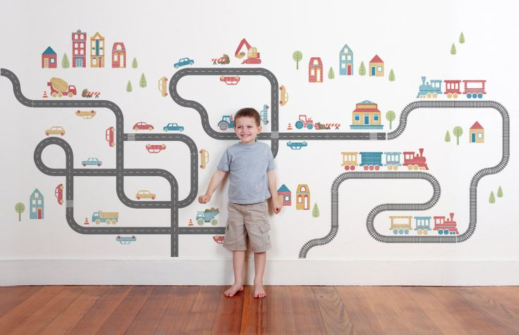 On the move - Classic Wall Stickers - Wall Stickers - Wall Decor ~ tinyme.com.au