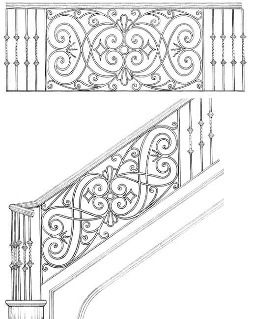 Railing Designs ISR215