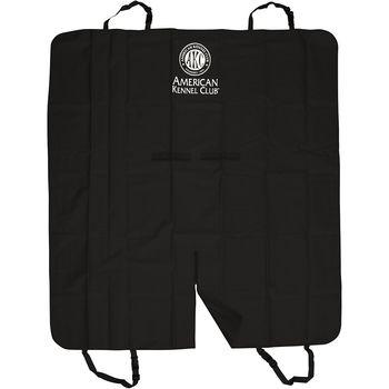 NEW! American Kennel Club Backseat Car Cover-Black