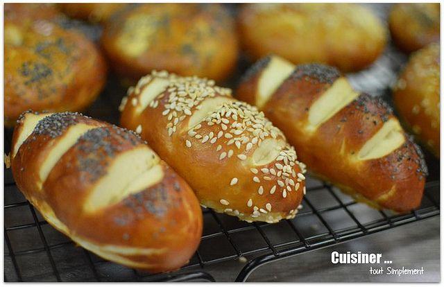 Malicette, Bretzels ou Bretzels-Bagels - Cuisiner... tout Simplement, Le Blog de cuisine de Nathalie